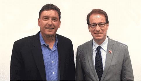 Eric Treiber and Congressman Peter Roskam