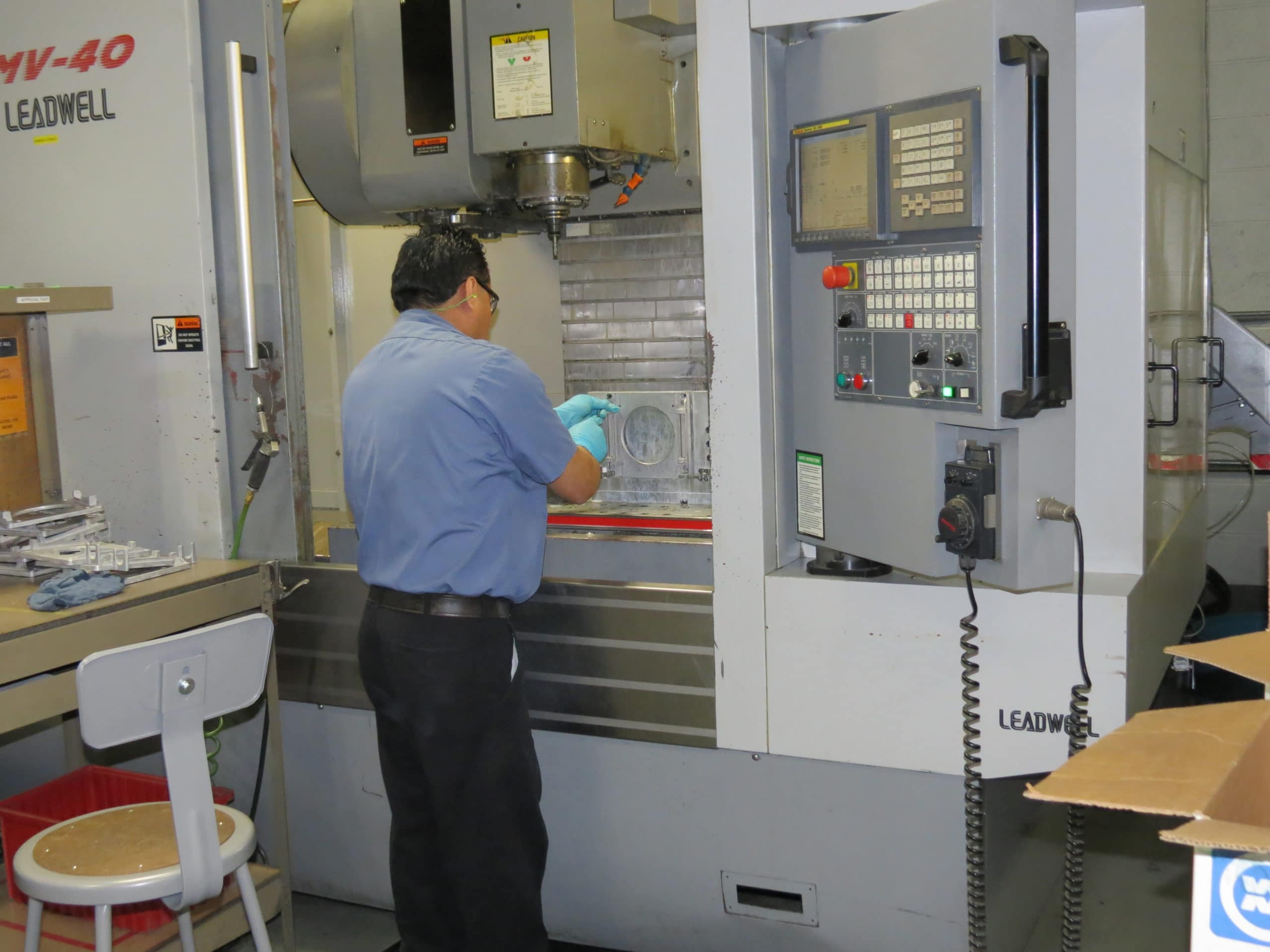CNC Machine Operator at CWM