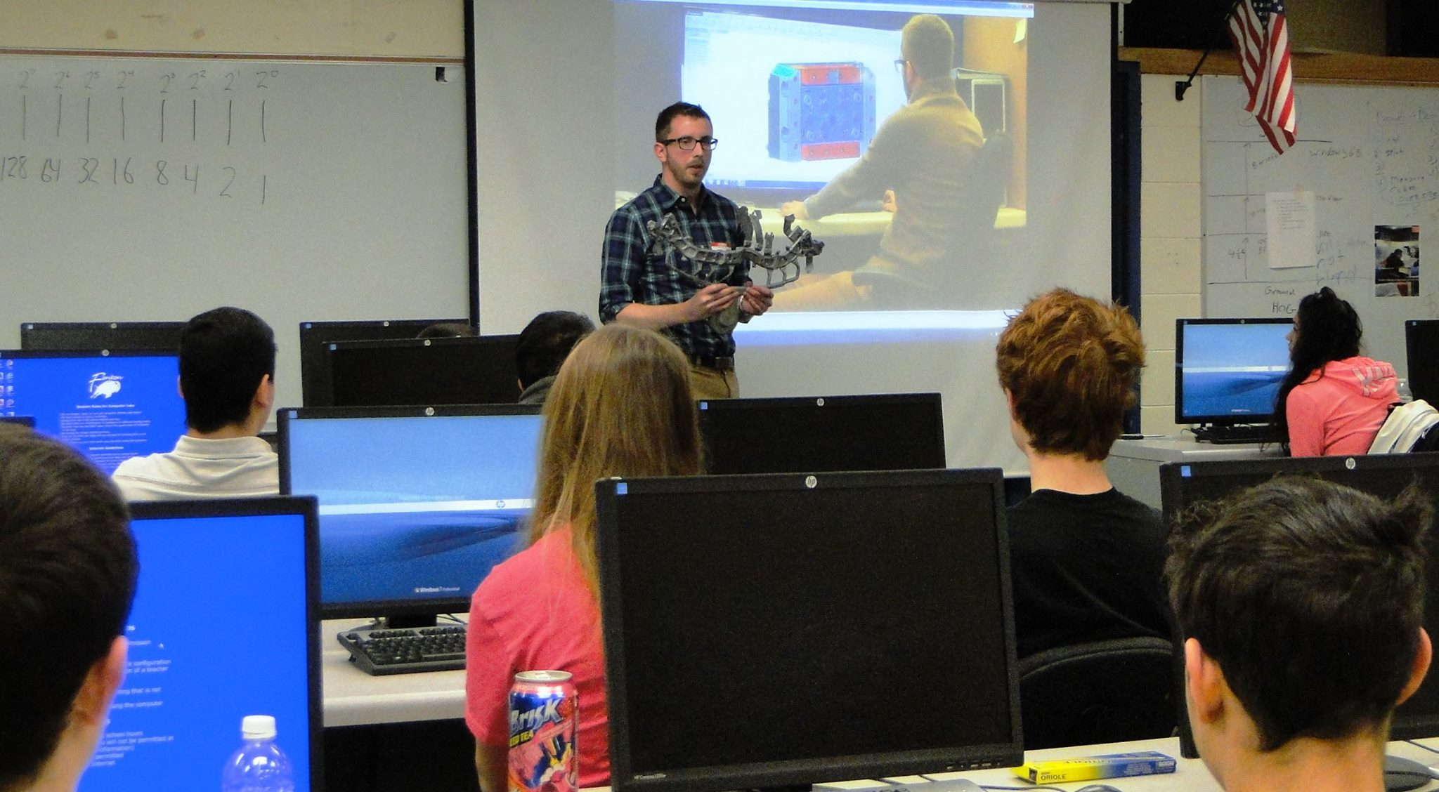 CWM Meets with High Schoolers