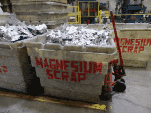 CWM Recycles Magnesium Scrap