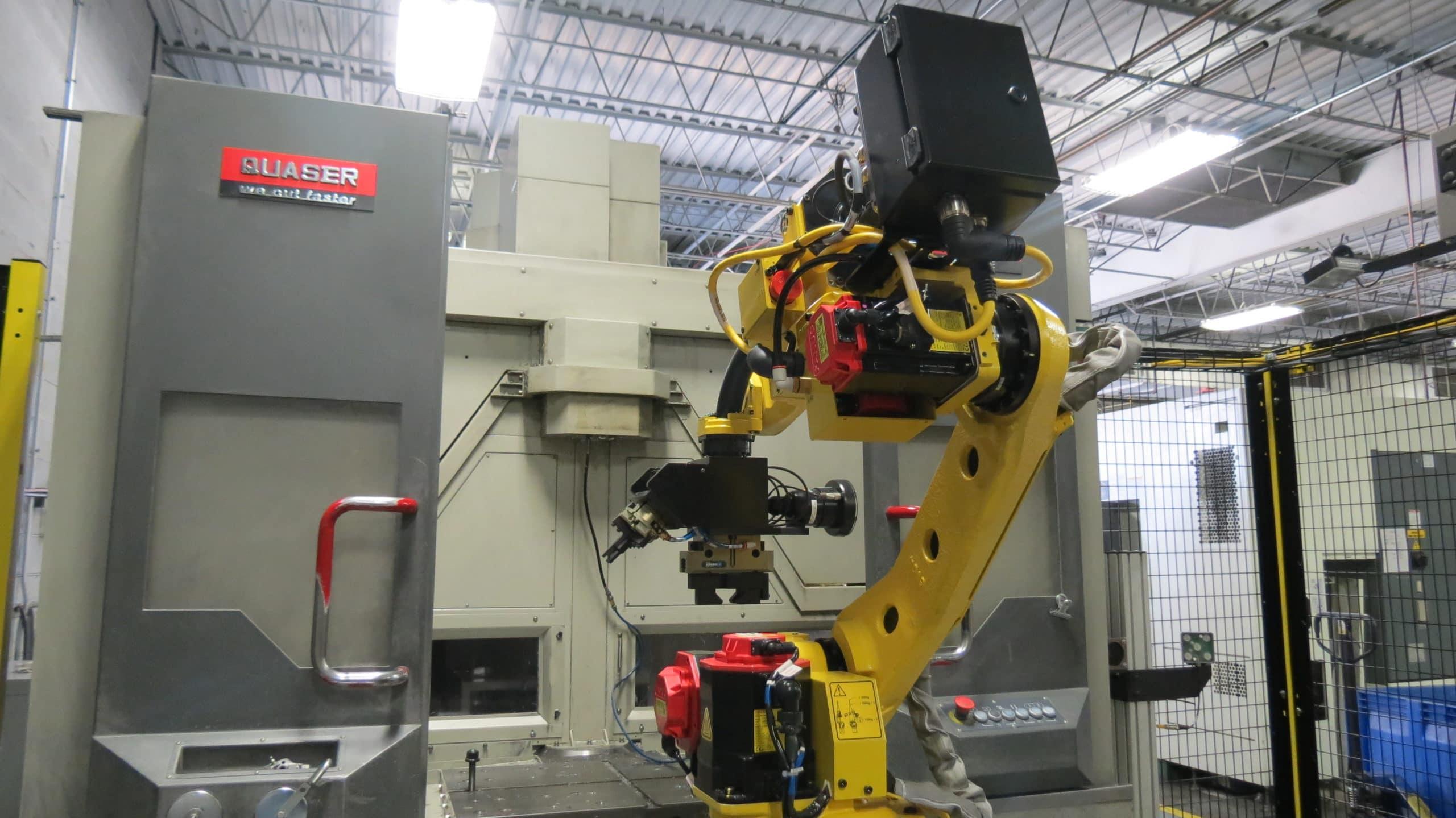 FANUC CNC Robot die casting