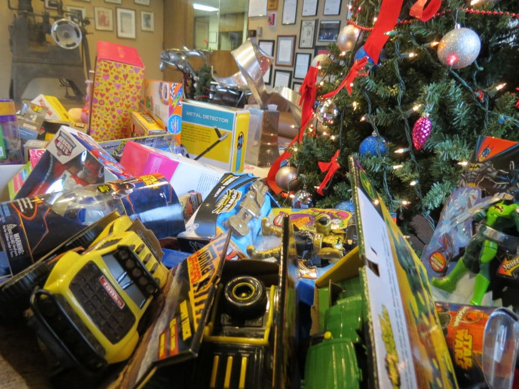 CWM Donates to Toys for Tots