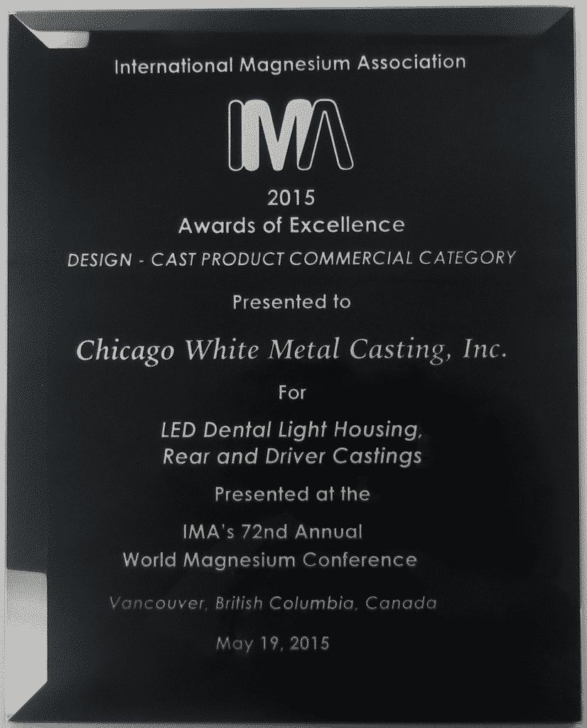 CWM and A-Dec Dental win the prestigious IMA Award