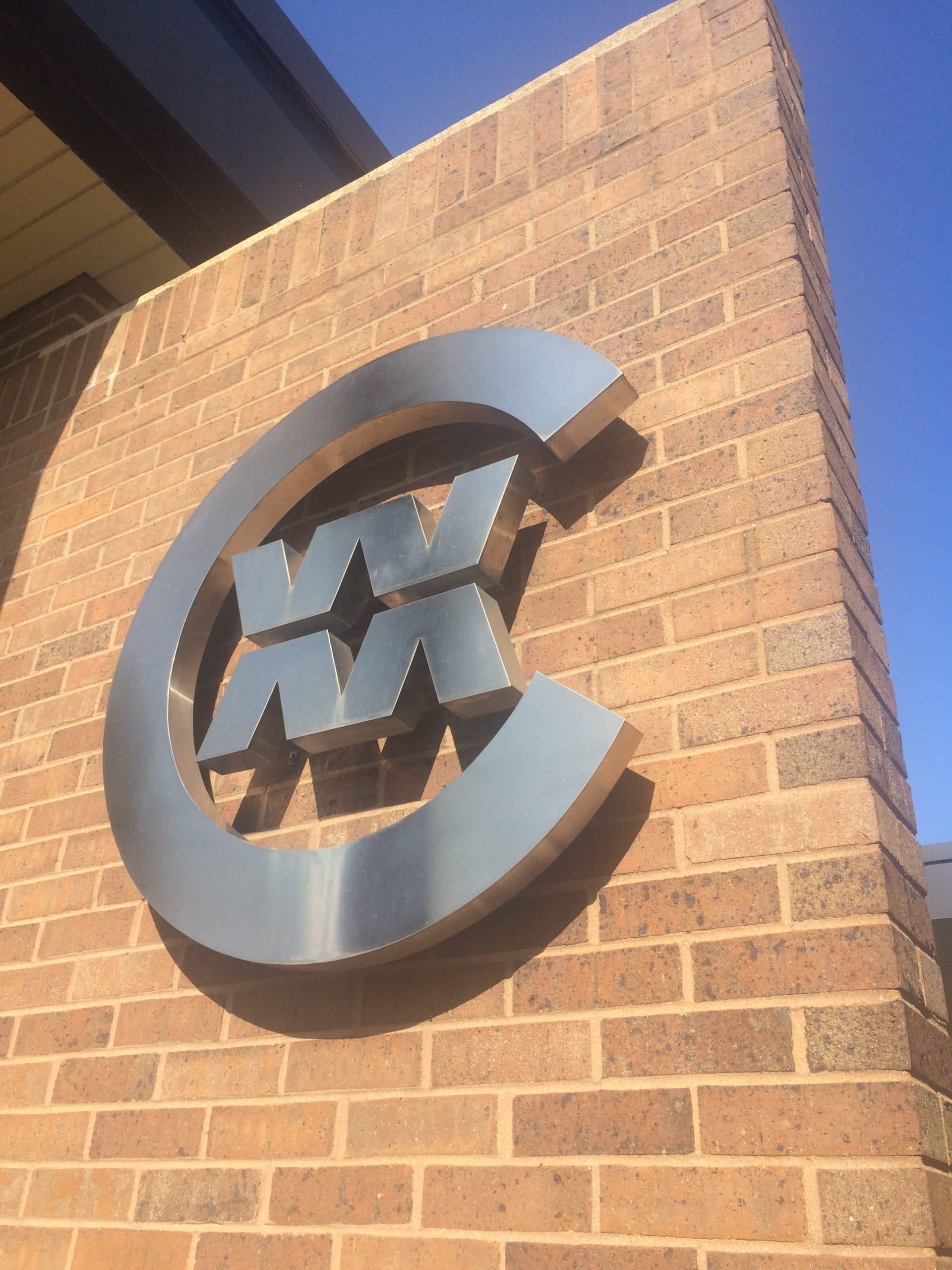 CWM building logo