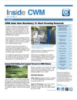 Inside CWM Newsletter - 2014 Fall