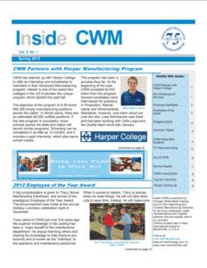 Inside CWM Newsletter - 2013 Spring