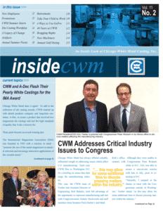 Inside CWM Newsletter - 2015 Fall