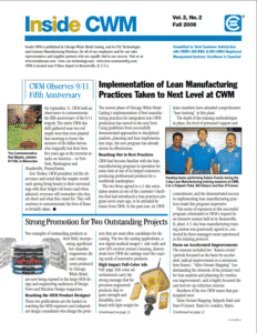 Inside CWM Newsletter - 2006 Fall