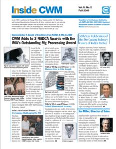 Inside CWM Newsletter - 2009 Fall