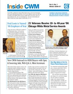 Inside CWM Newsletter - 2007 Spring