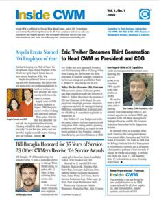 Inside CWM Newsletter - 2005
