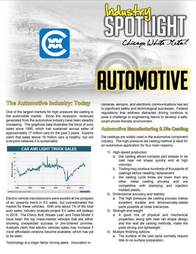 Industry Spotlight: Automotive
