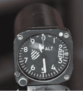 Aircraft Altimeter housing
