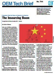 The Insourcing Boom: Updated, In-depth look at the Comeback of Manufacturing to the U.S
