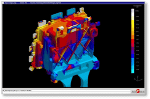 CWM utilizes Magmasoft software for mold flow analysis