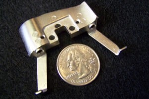 Miniature Zinc piece for Electronic Whiteboard