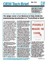"Book Review: ""Poorly Made in China"""