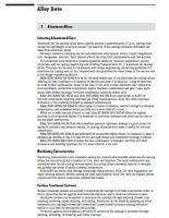 NADCA Standards: Aluminum Alloy Data