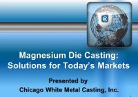 Magnesium Die Casting: Solutions for Today's Markets