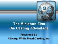 The Miniature Zinc Die Casting Advantage