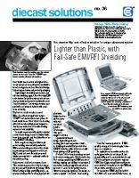 Mg Die Cast Ultrasound Portable Workstation Housing