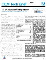 The U.S. Aluminum Casting Industry