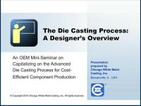 The Die Casting Process: An OEM Designer's Overview