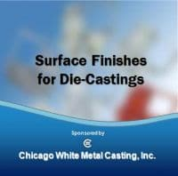 Surface Finishes for Die Casting