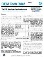 The U.S. Aluminum Casting Industry