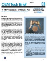 "10 ""Mini"" Case Studies for Mini Zinc Parts"